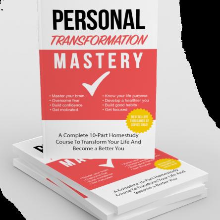 Personal Transformation Mastery Training